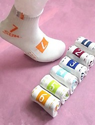 Men's Cotton/Polyester/Spandex Socks