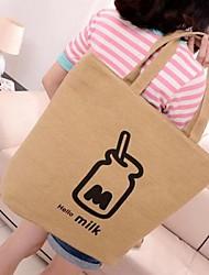 design de la bouteille de toile de loisirs de sac à main des femmes (de couleur assortie)