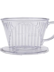 Transparente Coffee Dripper café de filtro copo de café Percolators