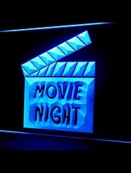Movie Night Film Advertising LED Light Sign