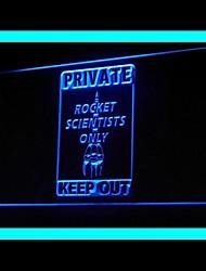 publicidade foguete privado levou sinal de luz