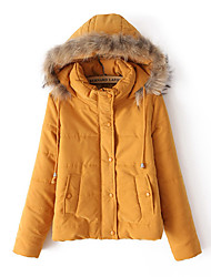 Women's Coats & Jackets , Cotton/Polyester Zhudi