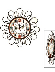 Do Old Restoring Ancient Ways, Simple Fashion, Wrought Iron Decorative Wall Clock