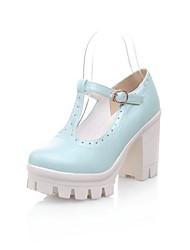 Women's Chunky Heel Platform Pumps Shoes (More Colors)