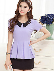 Women's Tops & Blouses , Polyester Casual Dovis