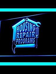 programas de conserto de casa publicidade levou sinal de luz