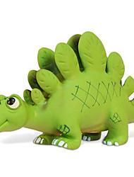Stegosaurus Modèle d'action figure le jouet en caoutchouc (vert)