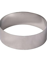 Hong Yuan ® 6-Zoll-runde Edelstahl-Mousse Ring