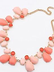 Women'S Korean Summer Sweet Teardrop Basic Necklace