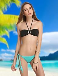 Diamante Retro Bikini Mujeres Set VBM Beachwear atractivo del traje de natación