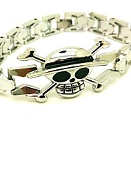 One Piece Straw bracelet chapeau de Cosplay Pirate alliage d'argent