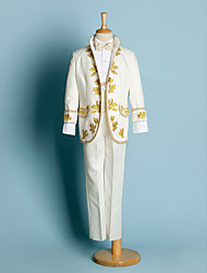 anel jornaleiro portador ternos de casamento partido dos meninos roupas de criança (1634634)
