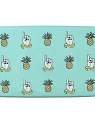 "6""x4""Two-layer Pineapple Pattern Lunch Box"