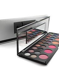 Professional Naras 26 Color Makeup Set 20 Color Eyeshadow+ 6 Color Blush Set Cosmetic Palette Set with Mirrror