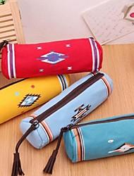 sacchetti di stoffa sacchetti della penna indiano cilindro tela doganale arte cartoleria