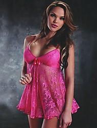 Lingerie Demônio Mulheres Sexy (rosa)