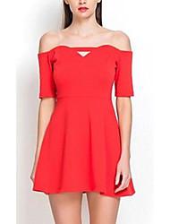 Venta caliente de las mujeres Backless del mini vestido de Bodycon