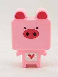 QiDu New Strange New High Quality American Standard Plug Led Plug-in Electric Small Night Light Pink (Pig)