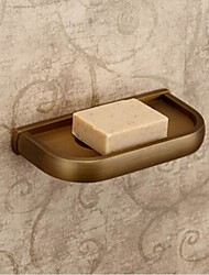 Antique Brass Finish Material Latão Pratos Soap