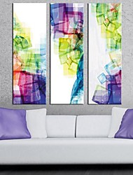 Stretched Canvas Art Gorgeous Color Set of 3