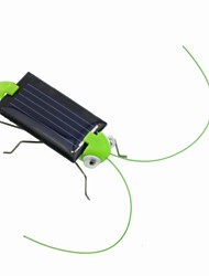 Bella Mini Solar Energy Powered Child Kid Toy Locust Solar Grasshopper Insetto Bug