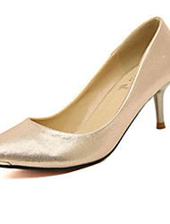 IPIEN Cusp Mid Heel Single Shoes (Champagne)