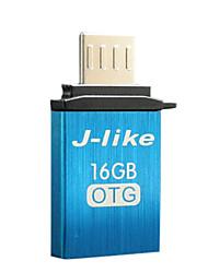 16gb otg dur USB2.0 flash j comme pour les téléphones cellulaires (noir)
