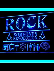 Rocha Someones Publicidade LED Sign