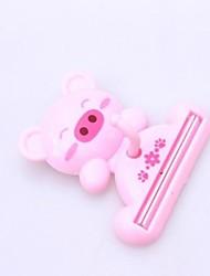 Cartoon Pig Multipurpose Toothpaste Squeezer Devices Plastic