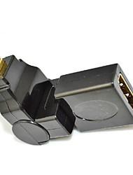 360 degrés de rotation 90 angle micro d HDMI mâle vers HDMI femelle adaptateur convertisseur