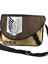 Tasche Inspiriert von Attack on Titan Cosplay Anime Cosplay Accessoires Tasche / Rucksack Braun PVC Mann / Frau