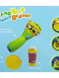 souffleur de bulles de savon bulle de forme pour tenue à la main en plein air jouets de bébé (couleur aléatoire)