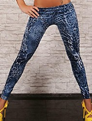 Women Denim Legging , Polyester/Spandex