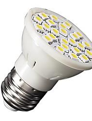 3W E26/E27 Lâmpadas de Foco de LED MR16 24 SMD 5050 210-240 lm Branco Quente AC 220-240 V