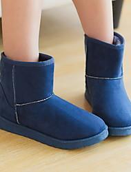 vrouwen platte hak ronde neus laarzen (meer kleuren)