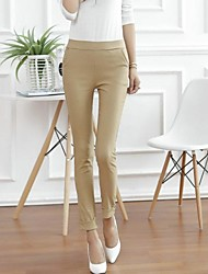 Women's Feet Mouth Edge Nine Points Leggings