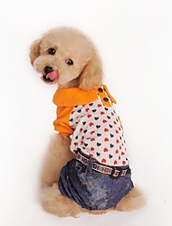 Winter Cotton Pants for Dogs Orange XS / S / M / L / XL / XXL