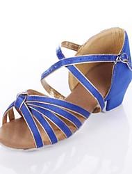 Scarpe da ballo - Non personalizzabile - Donna / Bambino - Latinoamericano - Tacco cubano - Satin - Altro