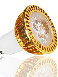 LOHAS® GU10 5W 380-450LM 2800-3200K Warm White Light Gold Shell LED Spot Bulb (110-240V)