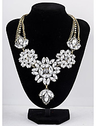 MTS Western Style Fashion Metal Diamonade Vintage Necklace