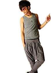 Men's Solid Color Harem Long Pants