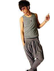 solide harem de couleur des pantalons longs pour hommes