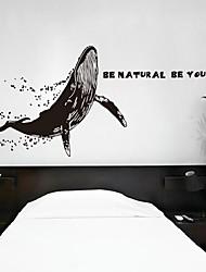 настенные наклейки наклейки, современные индивидуальные китов наклейки ПВХ стеновые