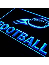 exibição de futebol i576 sinal bar treinamento luz de néon