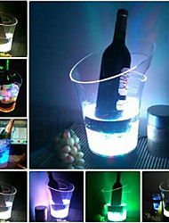 White Color LED ICE Bucket