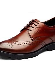 sapatos masculinos pierreshark® negócios verão e casuais oxfords de salto planas sapatos elevador mais cores disponíveis