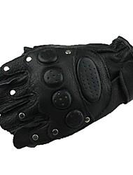 outdoor hoge kwaliteit fietsen lederen korte vinger handschoenen