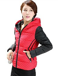 Women's Hooded Down Jacket Winter Warm Cotton Padded Coat More Colors