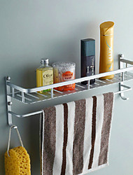 Space Aluminium Bathroom Storage Shelf