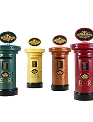 Cylinder Mailbox Pattern Saving Bank Toys for Gifts